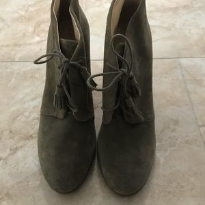 Sole Society Olive Booties